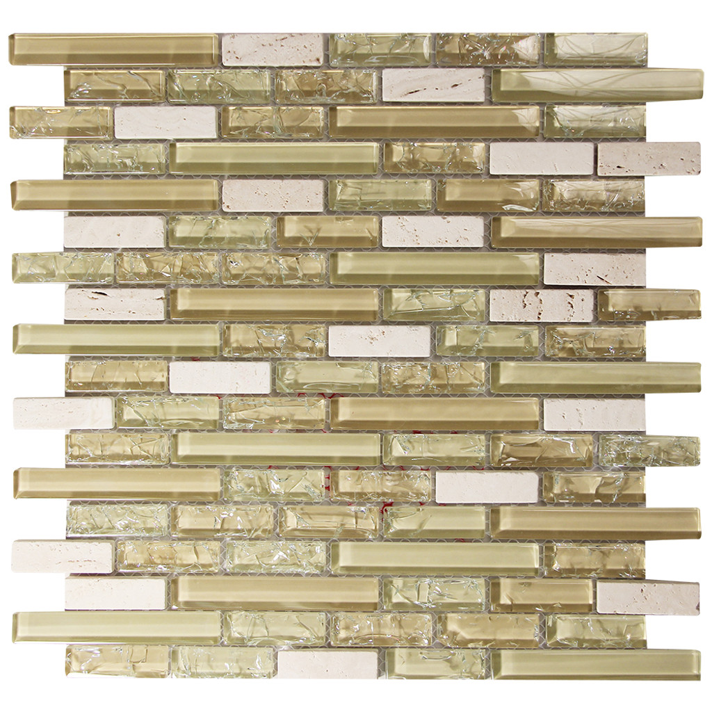 Selene 1 Mosaic Glass Tile