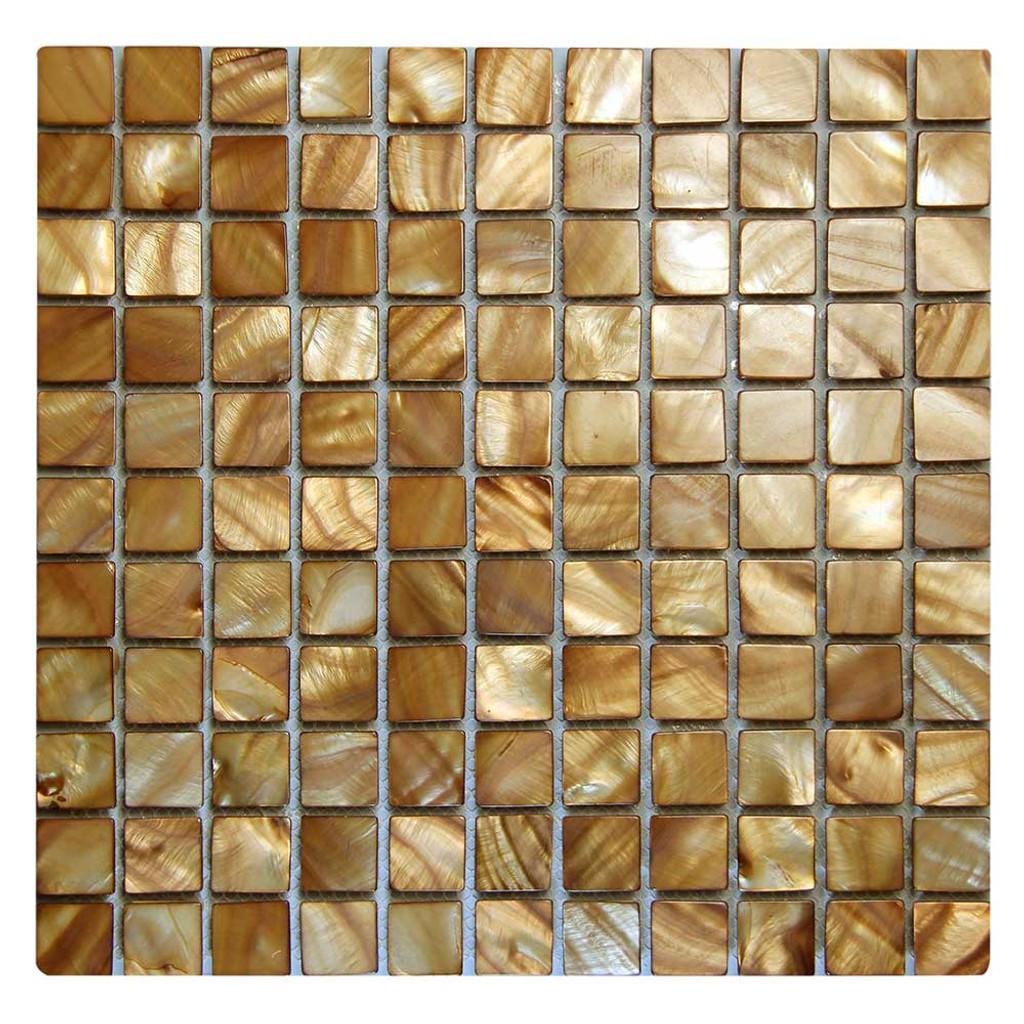 Shell Wine Mosaic Glass Tile
