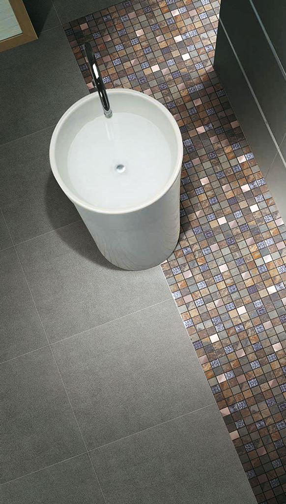 talos mosaic stone tile bathroom