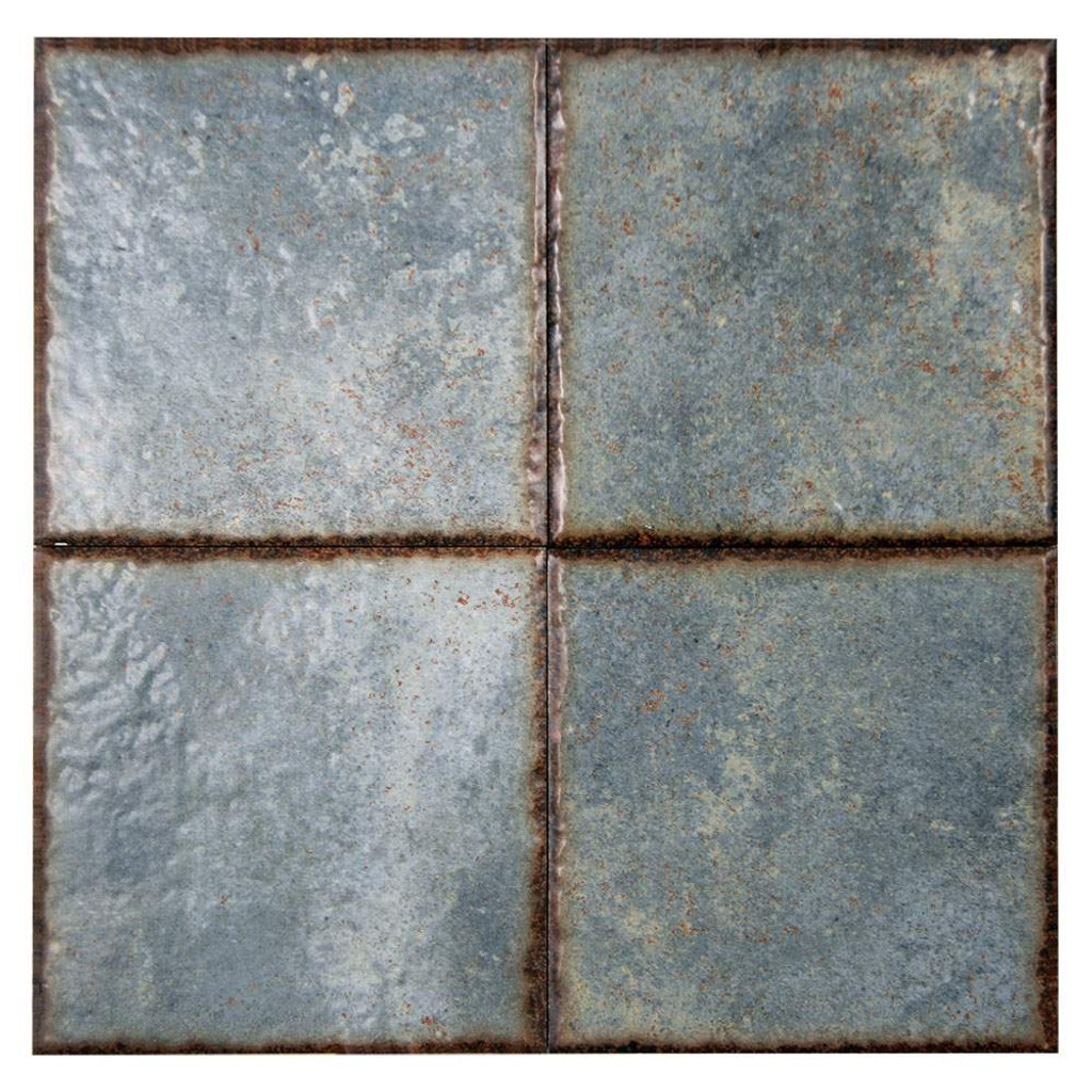 Benisa Green Porcelain 6x6 Pool Grade Tile