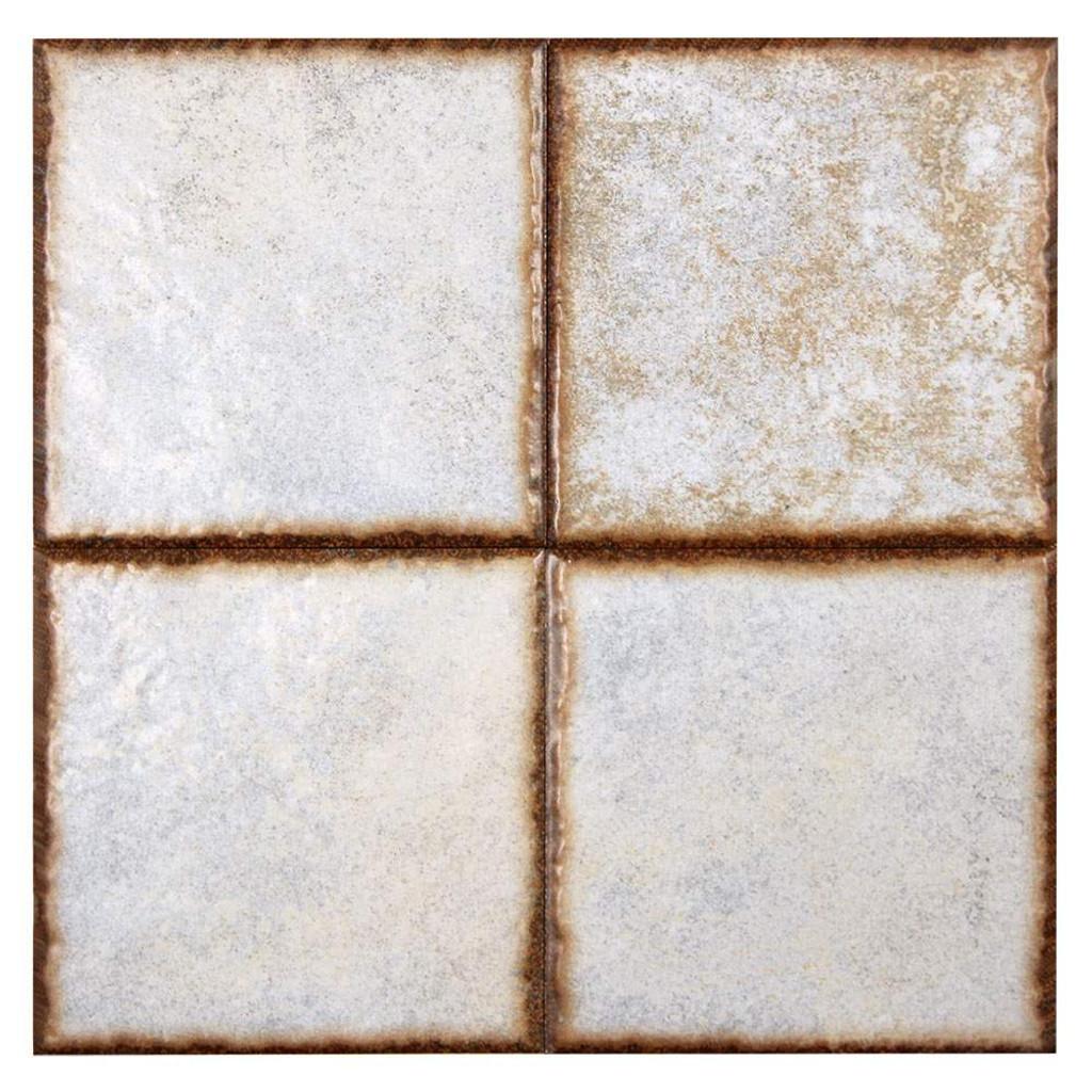 Benisa White 6x6 Porcelain Pool Grade Tile