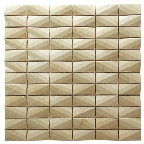Diamond Crema Marfil Marble Tile