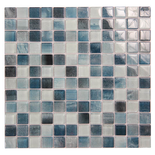 Extant Emerald 1x1 Pool Mosaic Glass Tile