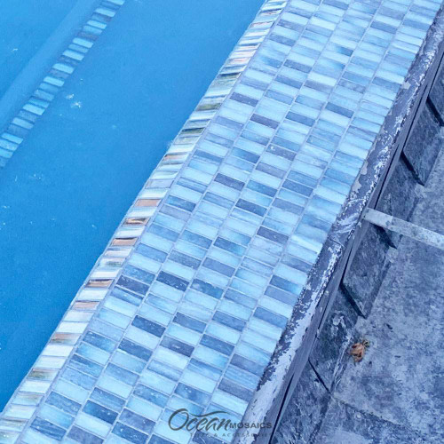 Extant Emerald 1x2 Double Pressed Pool Tile