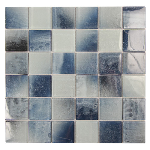 Extant Emerald 2x2 Pool Mosaic Glass Tile