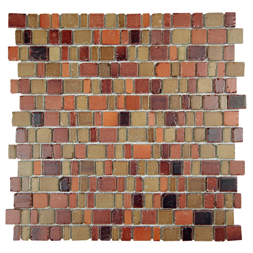 Ice Age Copper Mosaic Stone Tile