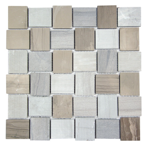 Linker Athens Grey Mosaic Stone Tile