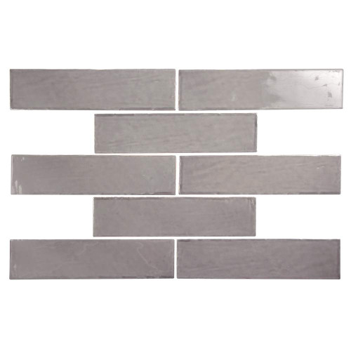 Pastel Pepper Glossy 3x12 Porcelain Subway Tile