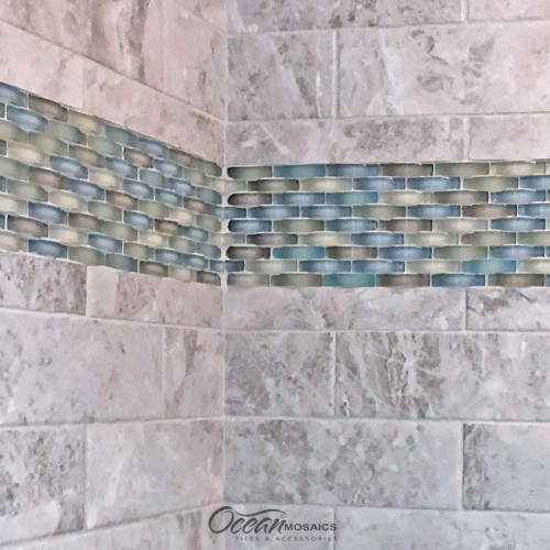 Ripple Spring Melt  Shower Inlay