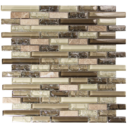 Selene 2 Mosaic Glass Tile