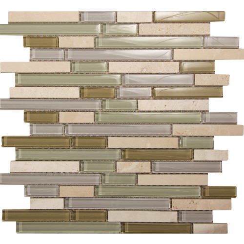 Selene 12 Mosaic Glass Tile
