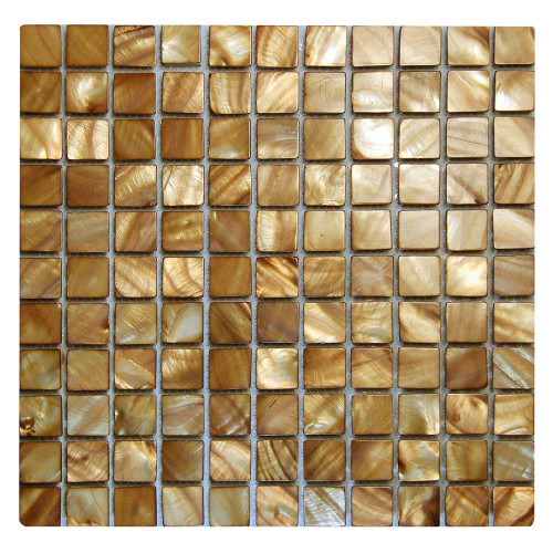 Shell Wine Mosaic Glass Tile