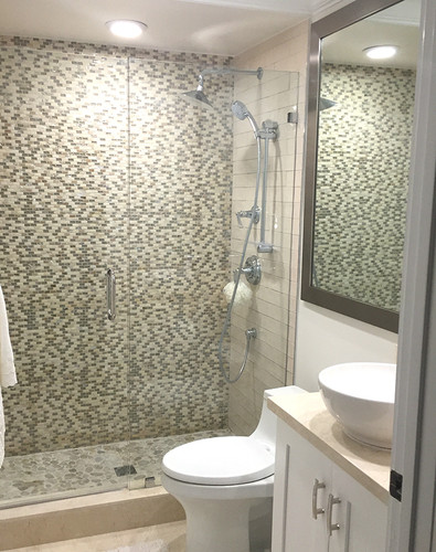 agata shell mix silver bathroom