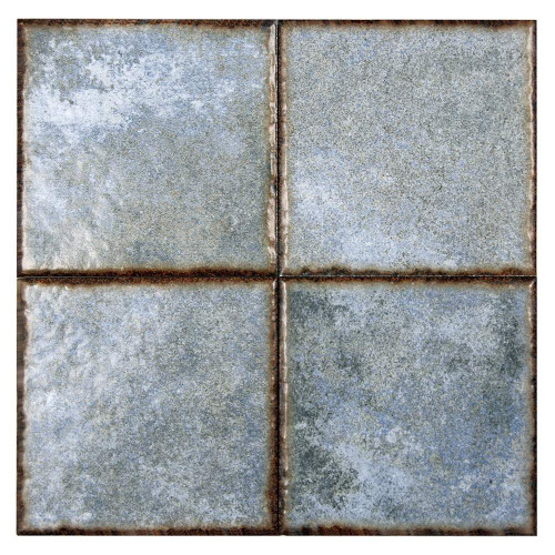 Benisa Blue 6x6 Porcelain Pool Grade Tile