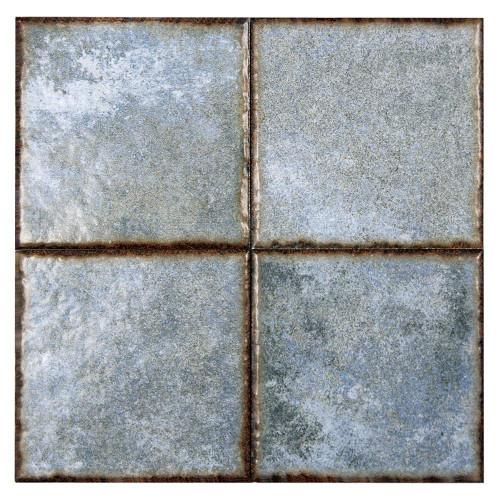 Benisa Blue 6x6 Porcelain Pool Grade Tile