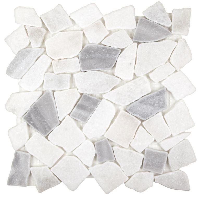 Arctic Stone Mix Marmara Flat Stone Tile