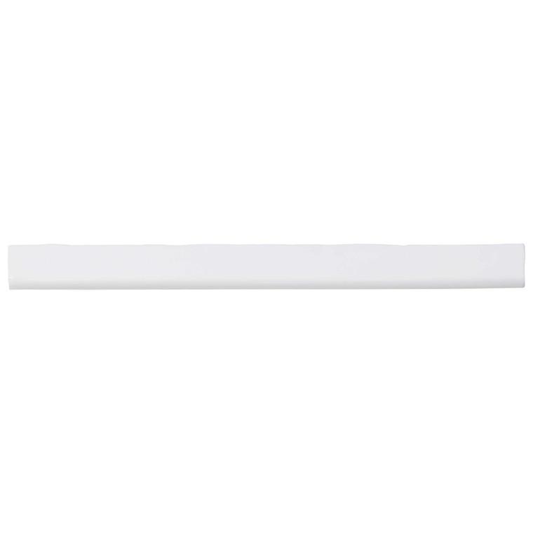 Pastel Light Grey 1x12 Porcelain Bullnose