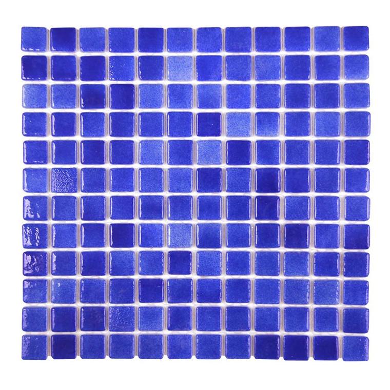 "Islamorada Abyss Blue 1"" x 1"" Pool Grade Tile"