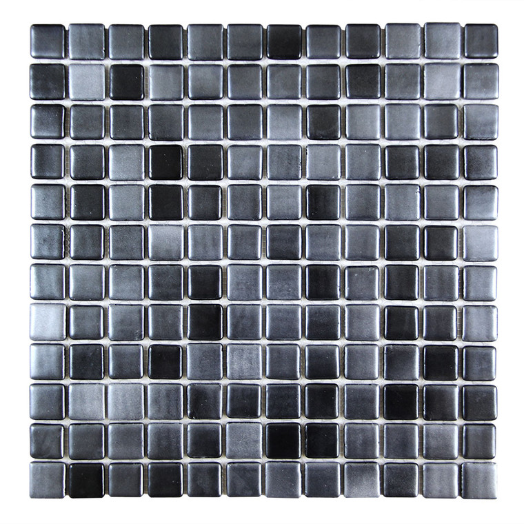 Islamorada Black Sea 1x1 Pool Grade Tile