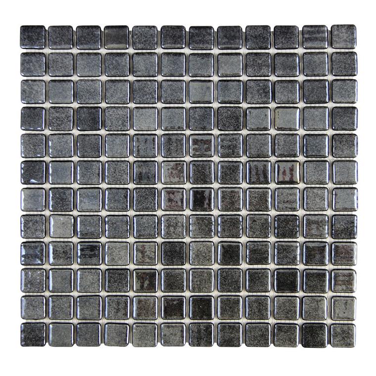 "Islamorada Black Sand 1"" x 1"" Pool Grade Tile"