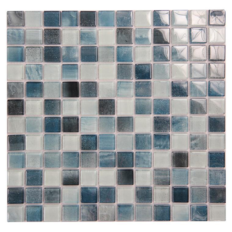 Extant Emerald 1x1 Pool Mosaic Glass Tile