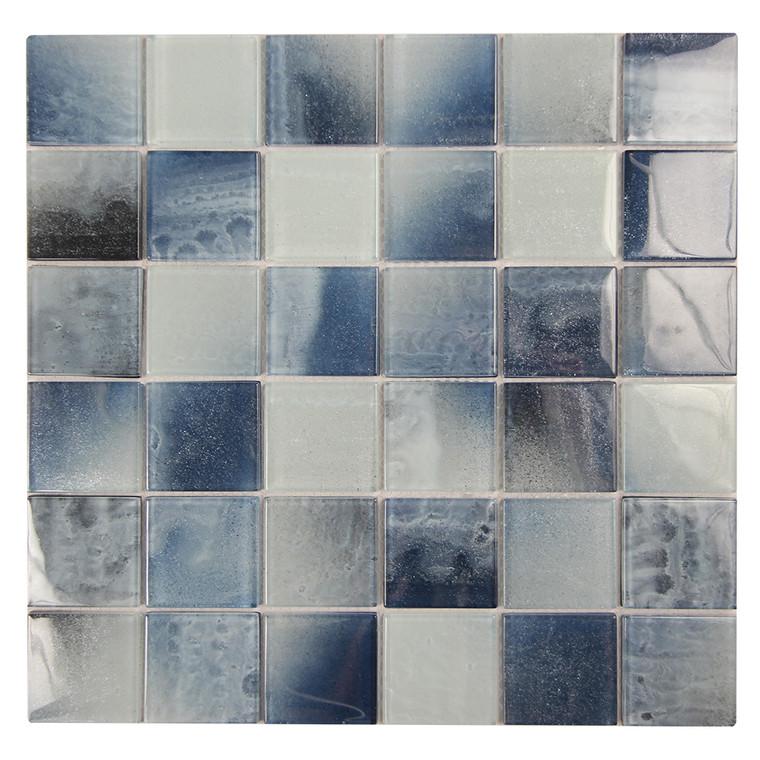 Extant Emerald 2x2 Pool Mosaic Glass Tile