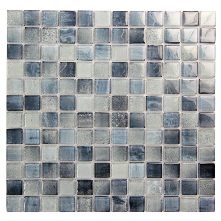 Extant Sky 1x1 Pool Mosaic Glass Tile