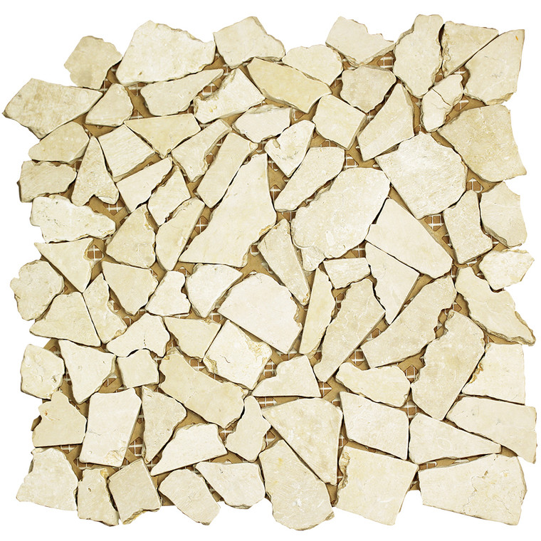 Nuur Crema Marfil Mosaic Stone Tile
