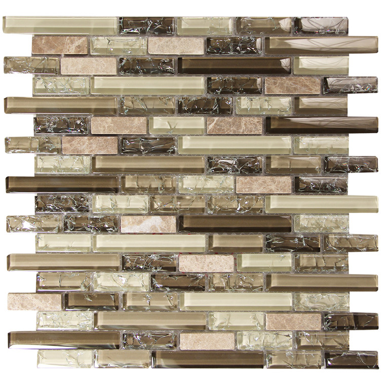 Selene 2 Mosaic Glass Tile