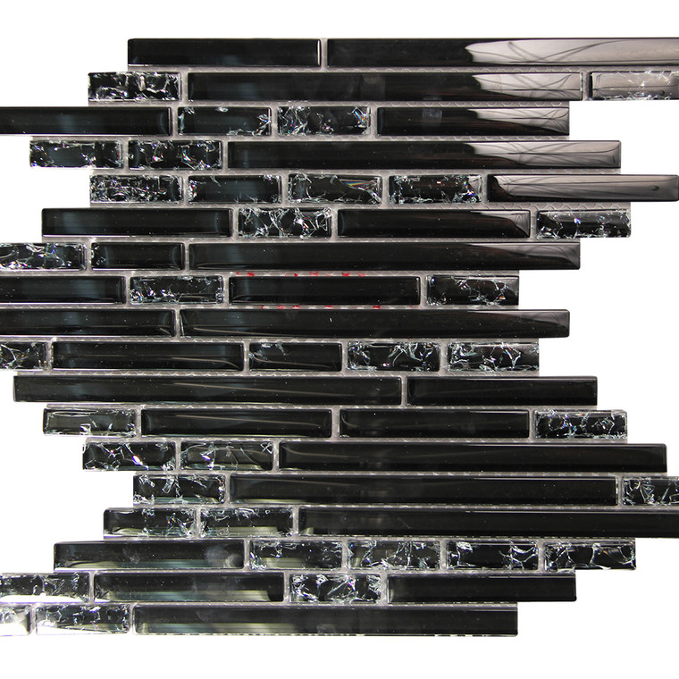 Selene 9 Mosaic Glass Tile