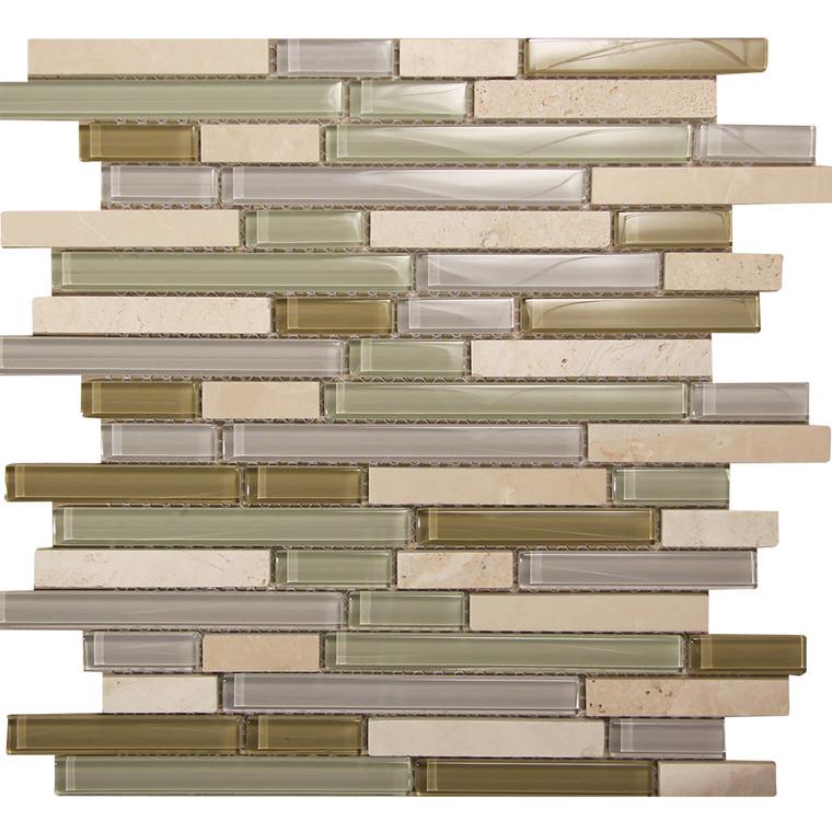 Selene 12 Mosaic Glass Tile