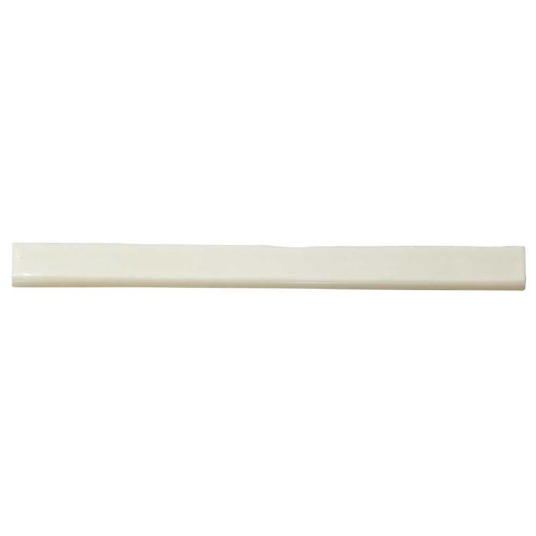 Pastel Off White 1x12 Porcelain Bullnose