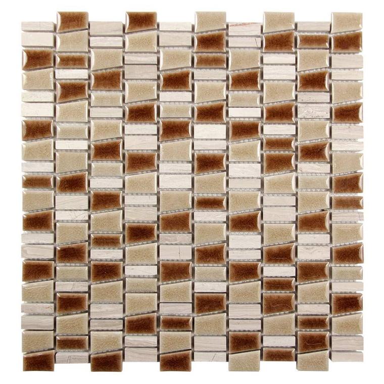 Mirada K Beige Mix Ceramic and Stone Tile