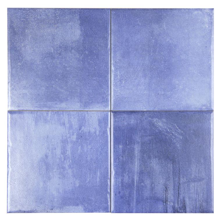 Aqua Pool Azul Blue 6x6 Porcelain Tile