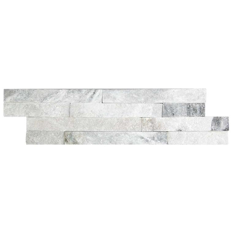 Slim Brick Cloud Grey Stone Tile - Box of 3.5 Sq. Ft