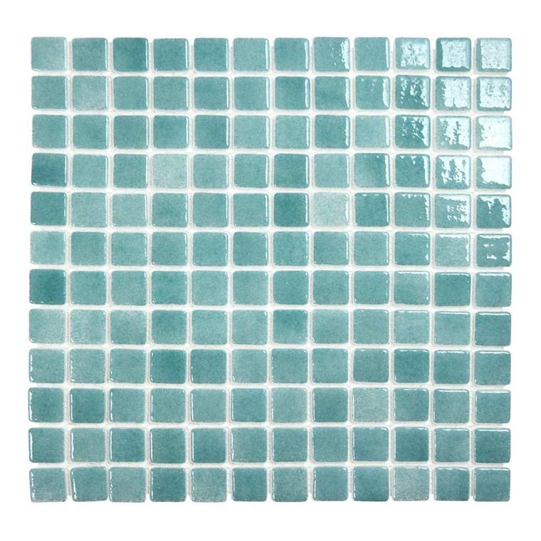 """Islamorada Seafoam Green 1"""" x 1"""" Pool Grade Tile"""