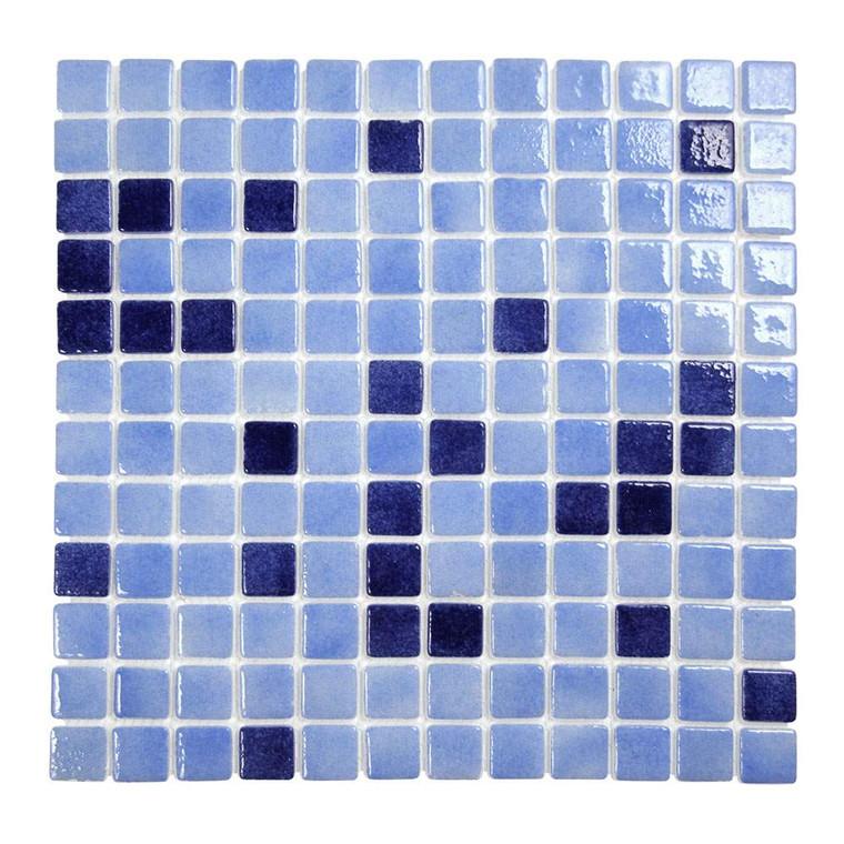 Islamorada Ocean Blue 1x1 Pool Grade Tile