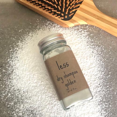Dry Shampoo Powder in Glass Jar