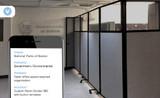 Custom Room Divider 360 Creates Unique Office Space