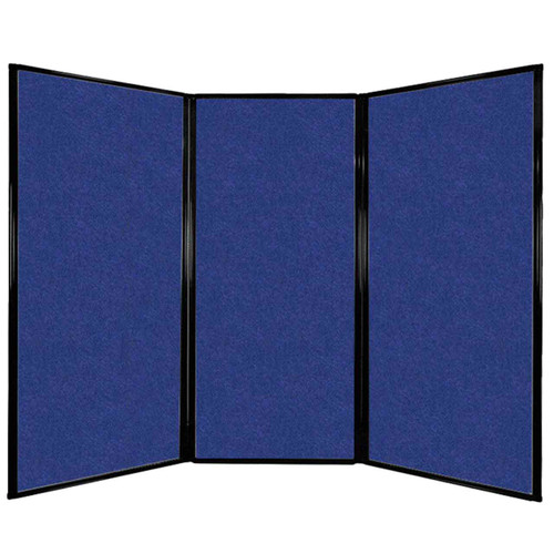 "Privacy Screen 7'6"" x 5'10"" Blue High Density Polyester"