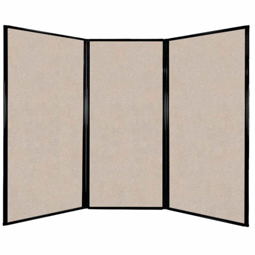 """Privacy Screen 7'6"""" x 5'10"""" Beige High Density Polyester"""