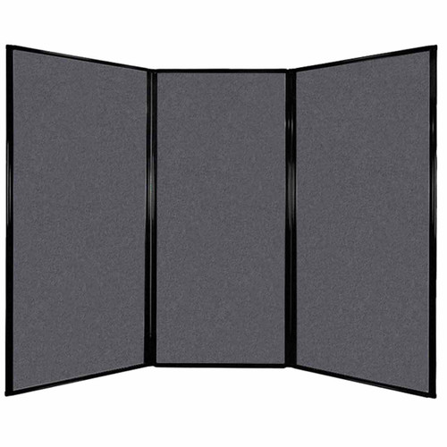 "Privacy Screen 7'6"" x 5'10"" Dark Gray High Density Polyester"