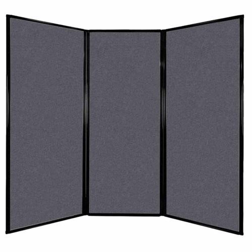 "Privacy Screen 7'6"" x 6'8"" Dark Gray High Density Polyester"