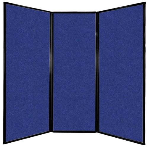 """Privacy Screen 7'6"""" x 7'4"""" Blue High Density Polyester"""