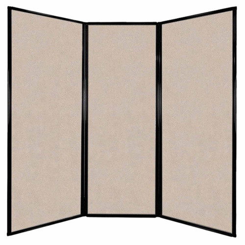 "Privacy Screen 7'6"" x 7'4"" Beige High Density Polyester"
