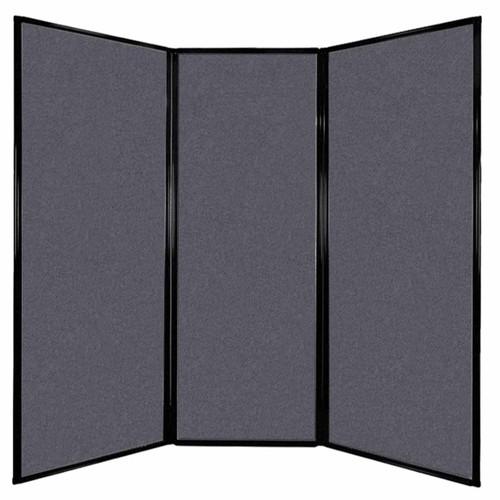 "Privacy Screen 7'6"" x 7'4"" Dark Gray High Density Polyester"
