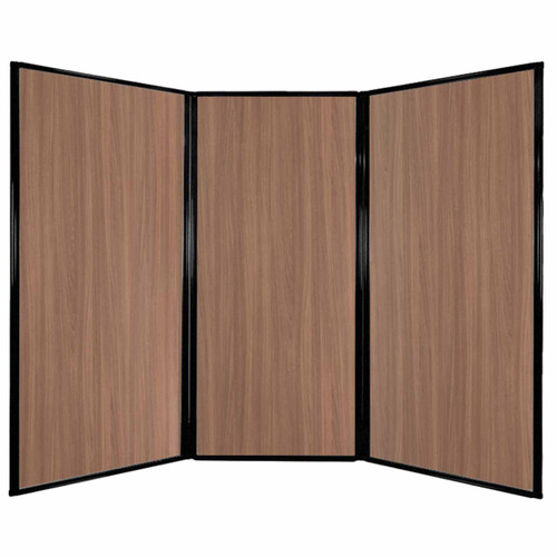 "Privacy Screen 7'6"" x 5'10"" River Birch Wood Grain"