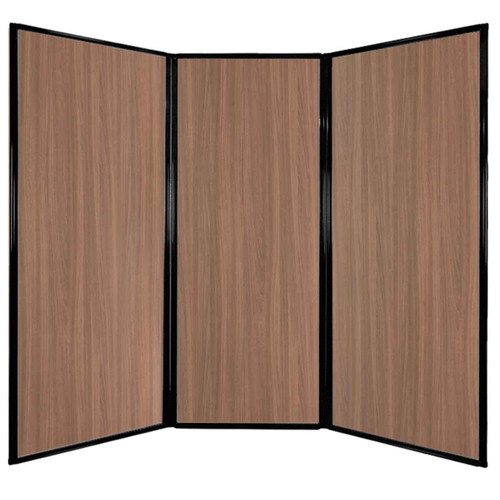 "Privacy Screen 7'6"" x 6'8"" River Birch Wood Grain"