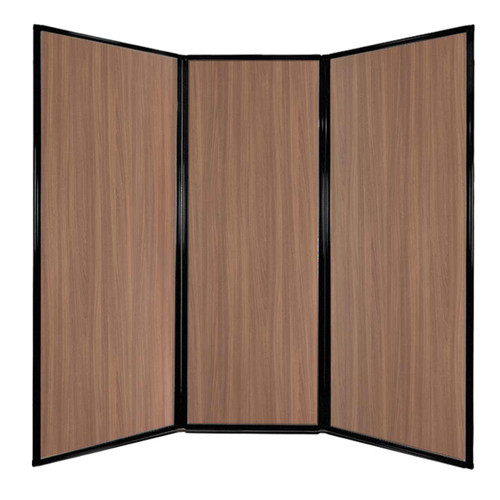 "Privacy Screen 7'6"" x 7'4"" River Birch Wood Grain"