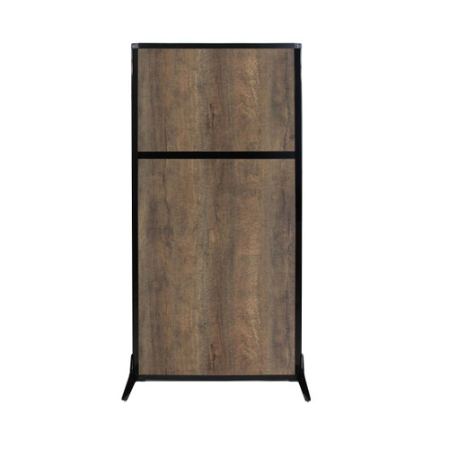 "Work Station Screen 33"" x 70"" Urban Oak Wood Grain"